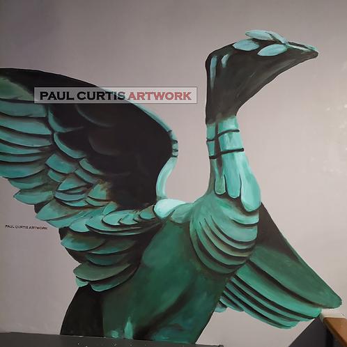 The Liver Bird, Art Print