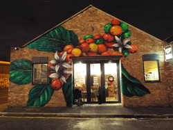 Coffee Branch Mural, Liverpool