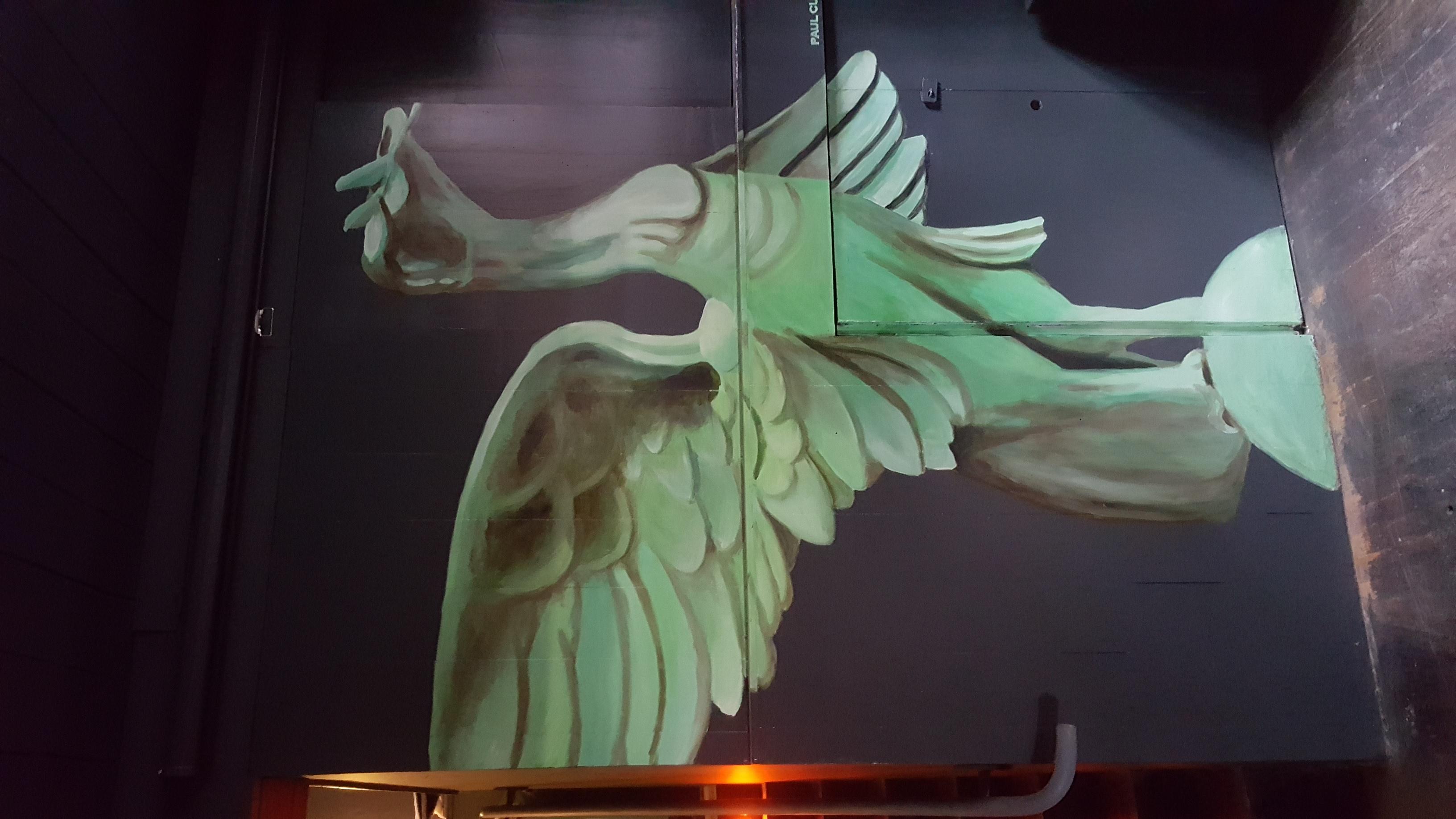 Liver Bird Mural
