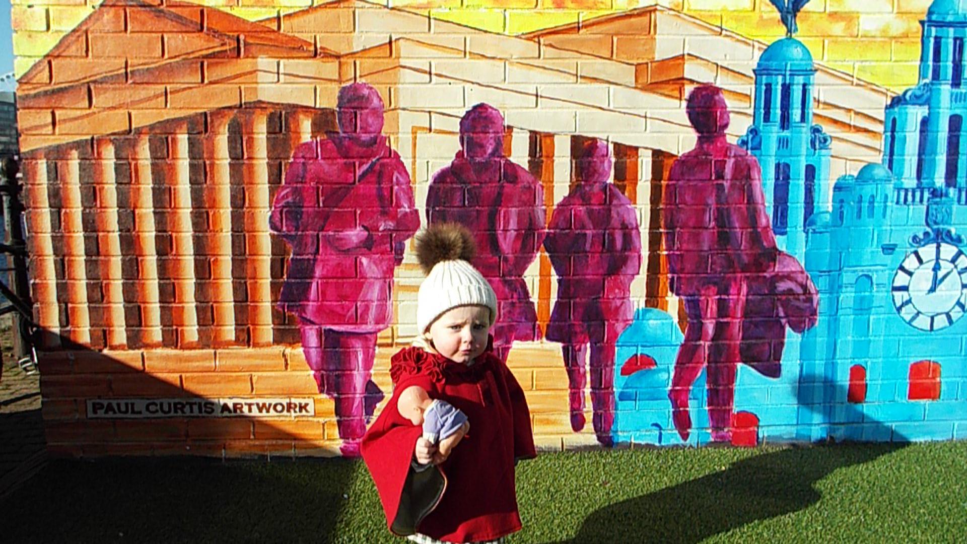 Fab Four mural
