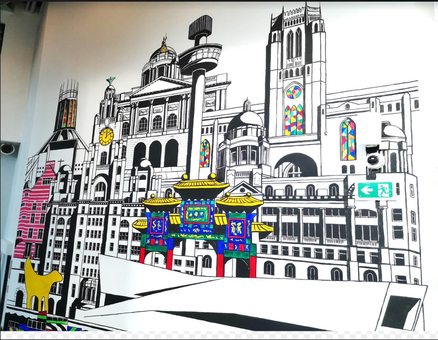 Liverpool buildings, Paul Curtis, unite