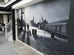 Liverpool Docks Mural