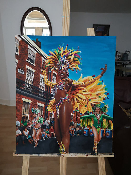 Samba Queen of Liverpool