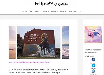 Eclipse magazine, Red Rum