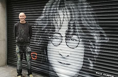 John Lennon Paul Curtis Artwork