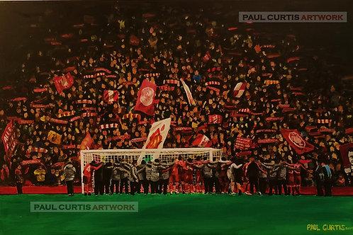Liverpool 4 - 0 Barcelona. Print