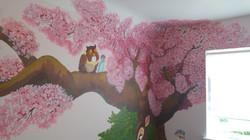 Disney Bambi Owl Mural