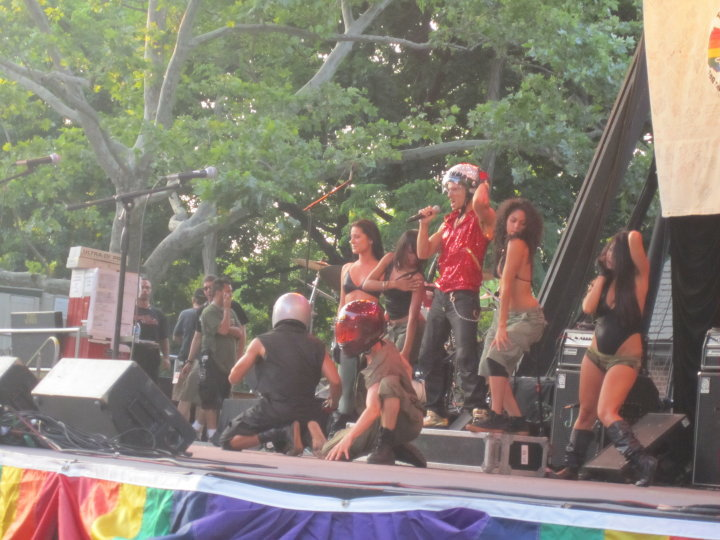 NYC PRIDE w/Ari Gold-Central ParkNY
