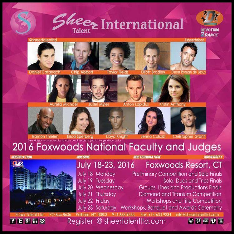 Sheer Talent Nationals 2016