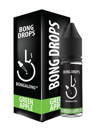 Bong Drops - Green Apple (15ml)
