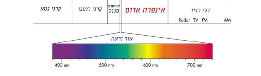 ספקטרום האור