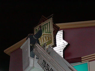 Roswell Market Place Neon Repair by Reliable Signs, llc