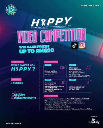 Happy Video Competition by EduCity