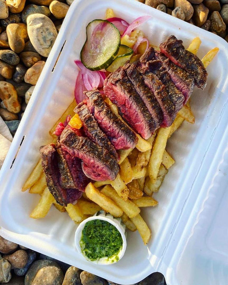 Flank Steak   Fries   Chimichurri