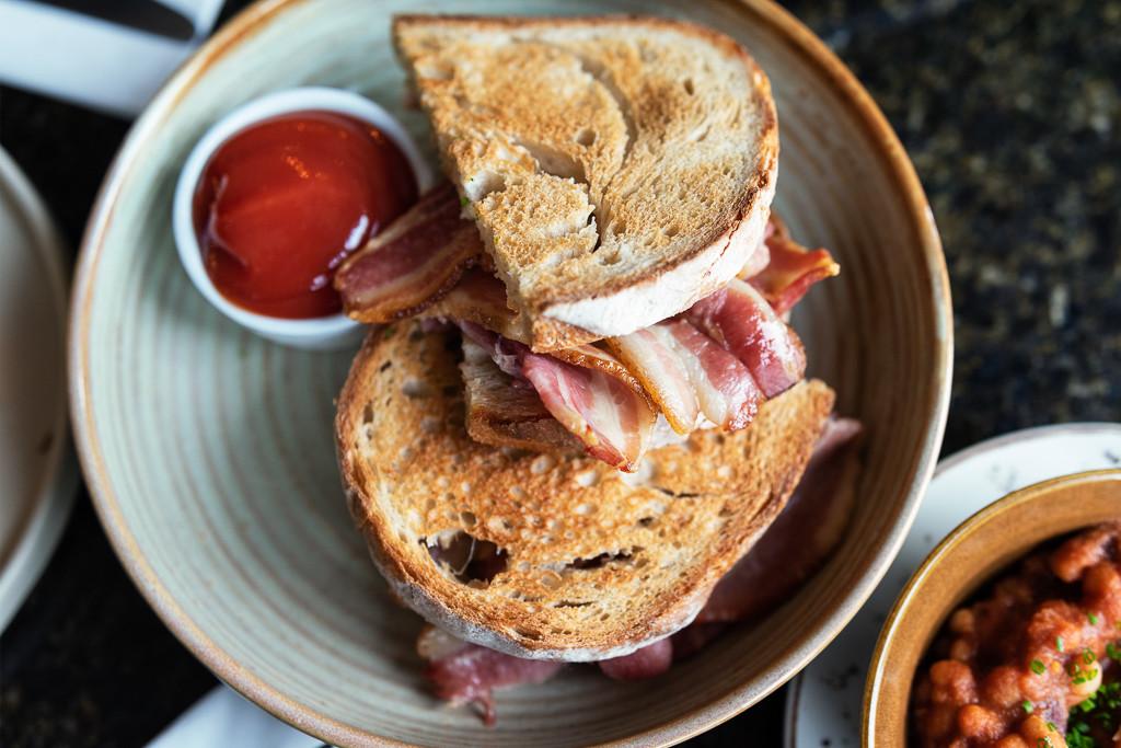Humble Bacon Sandwich