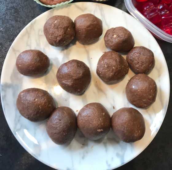 Chocolaty Protein Balls