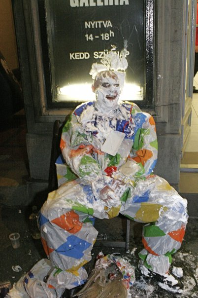 'I hate fucking clowns' 2007.