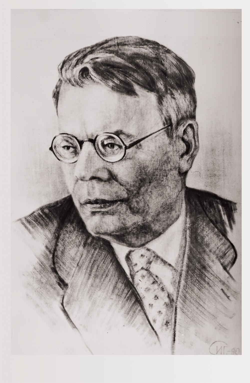 Портрет М.В. Исаковского СИГ