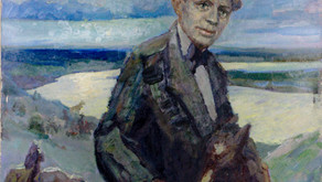 О портрете Сергея Есенина.