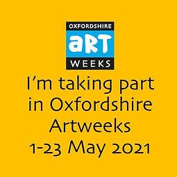 I'm taking part in Oxfordshire Artweeks