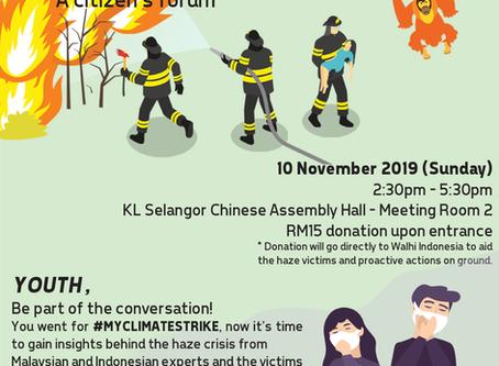 The ASEAN haze : A citizen's forum