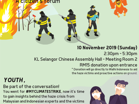 The ASEAN haze : A citizen's forum