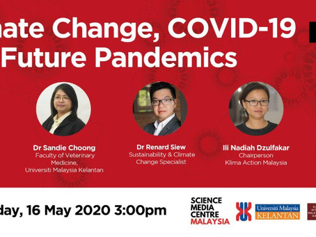 Climate Change, COVID-19 and Future Pandemics