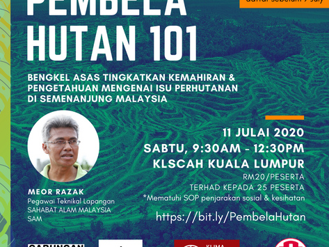 Workshop on forest governance in Peninsula Malaysia.
