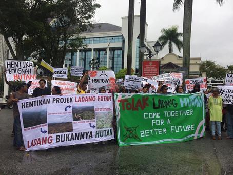 Memorandum passing by the Orang Asli in Perak to Menteri Besar Perak