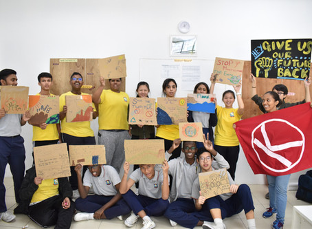 Climate Workshop with Dignity for Children Foundation