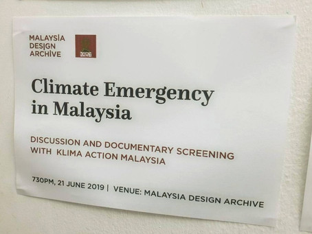 Documentary Screening and Interactive Talk : Climate Emergency