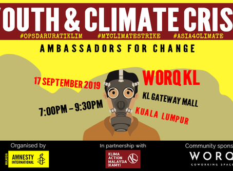Youth & the Climate Crisis: Ambassadors for Change