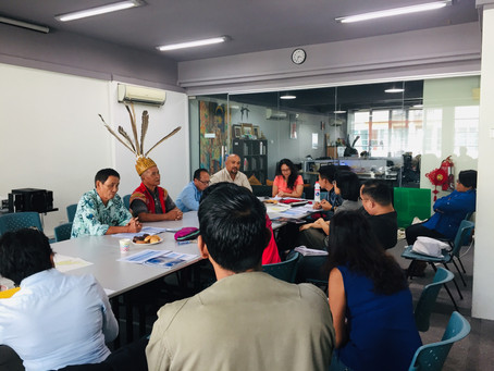 Sahabat Alam Malaysia (SAM): Solidarity Dialogue with four representative from two Iban communities