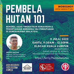 Workshop on forest governance in Peninsula Malaysia
