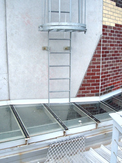Ladder To Glass Roof