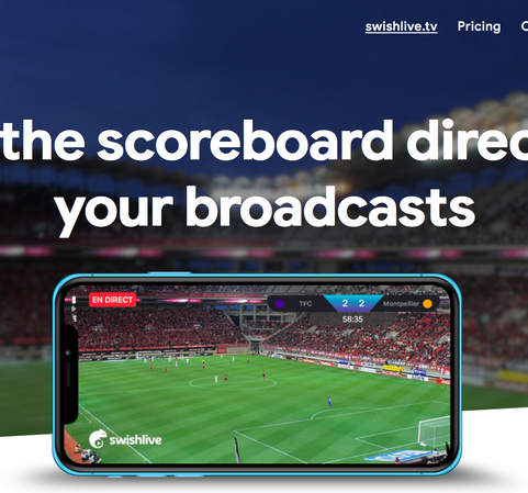 Live Streaming Matches Using Swishlive