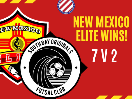 New Mexico Elite Wins Their First 2021 Season Victory