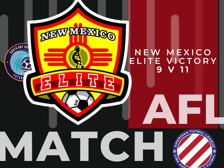 New Mexico Elite Takes AFL Lead With 12 Points