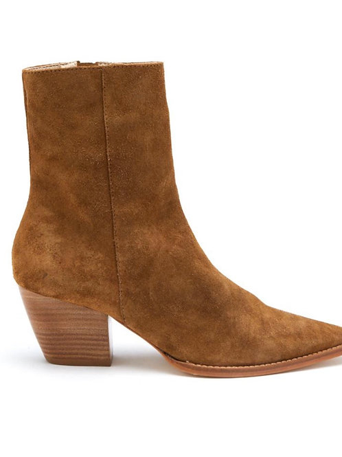 Pointed toe heeled boots