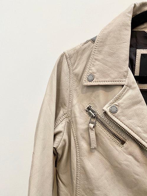Stars leather jacket