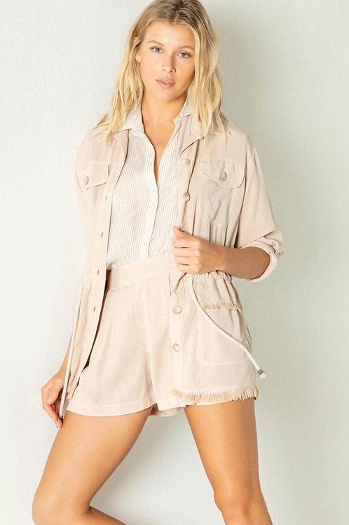 Safari fringed jacket