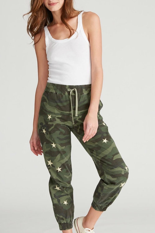 Camouflage star jogger