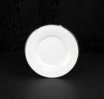 Platinum rim coffee saucer, pack of 10