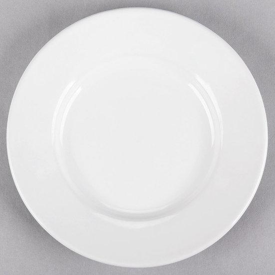 "6 1/4"" White China bread plate"