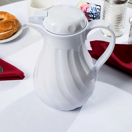Swirl coffee pot