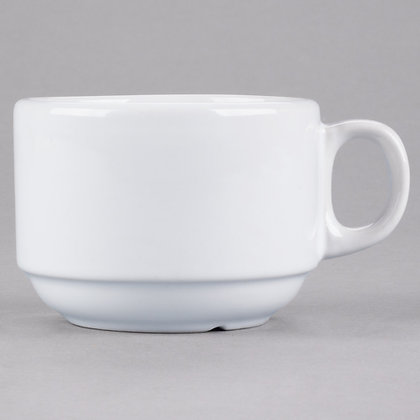 White cup, pack of 10