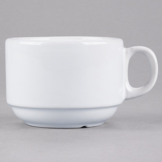 White China cup