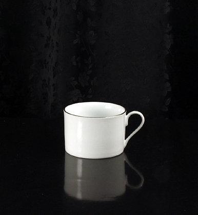 8oz Platinum rim coffee cup