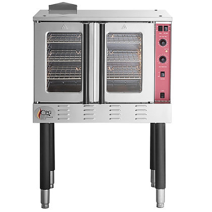Convection oven with propane