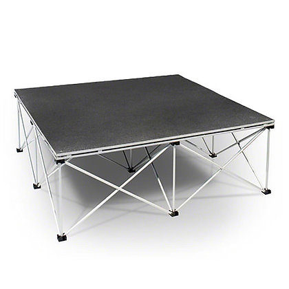 portable stage, 4x4 section
